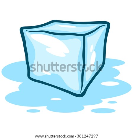 Ice Cube Melting