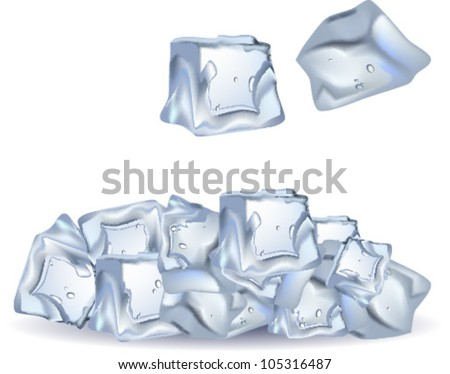Ice Cube Vector Stock Images, Royalty-Free Images & Vectors ...