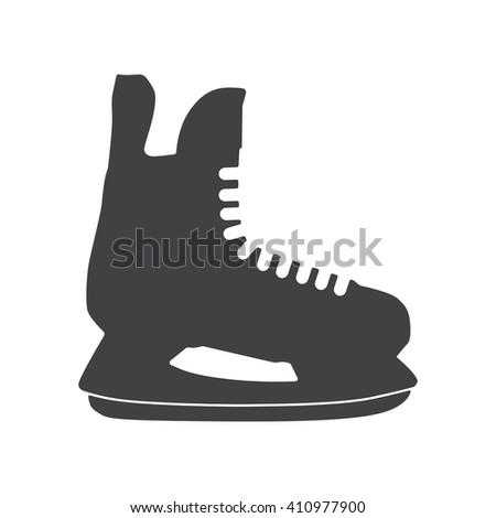 Ice skate icon, Ice skate icon eps10, Ice skate icon vector, Ice skate icon eps, Ice skate icon path, Ice skate icon flat, Ice skate icon app, Ice skate icon web, Ice skate icon art, Ice skate icon AI - stock vector