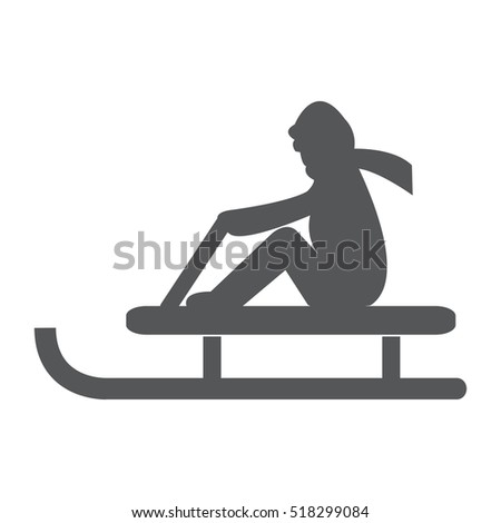 Ice Skate Icon Vector Illustration