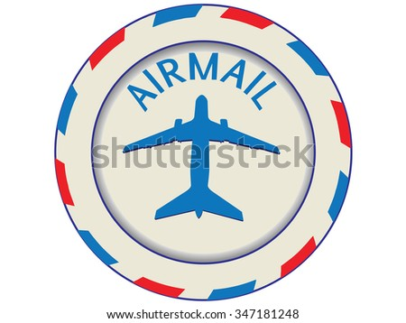 icon air mail.Vector