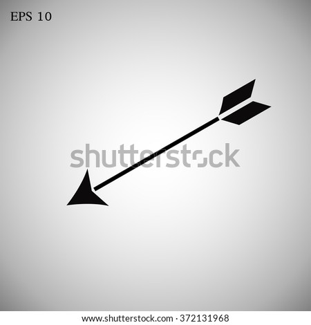 Icon arrows. vector.