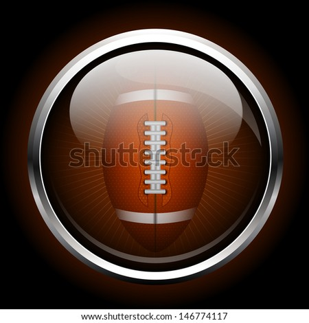 icon ball for American football