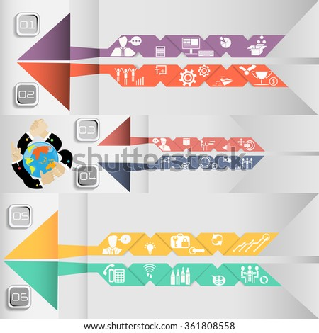 Icon business communications worldwide - stock vector