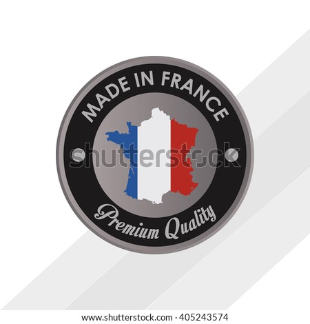 Icon design of France , vector illustration