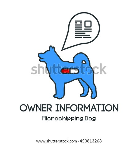 how to change information on a dog microchip