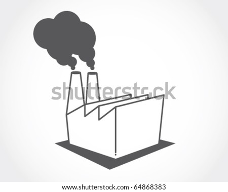 icon factory. - stock vector
