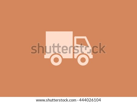 icon. Home delivery Vector.  - stock vector