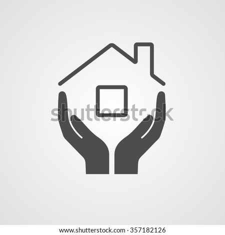 Icon Home Symbol Company Construction Repair Stockvector 357182126