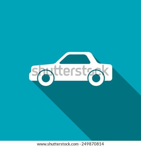 icon of car - stock vector
