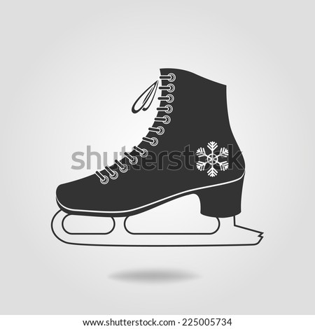 icon of ice skates