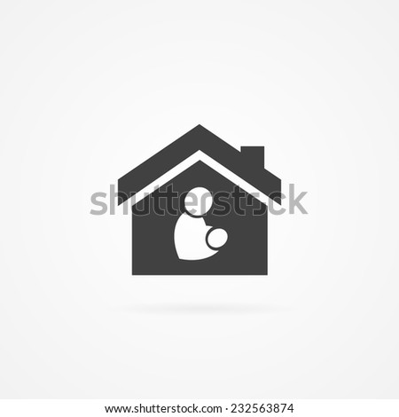 Icon of maternity. - stock vector