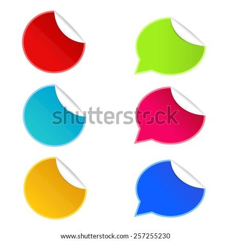 icon of sale sticker - stock vector