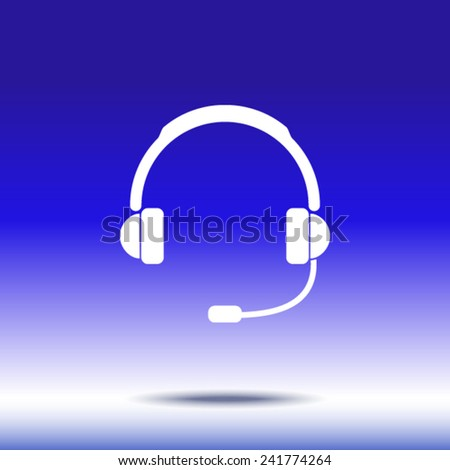 icon of support  - stock vector