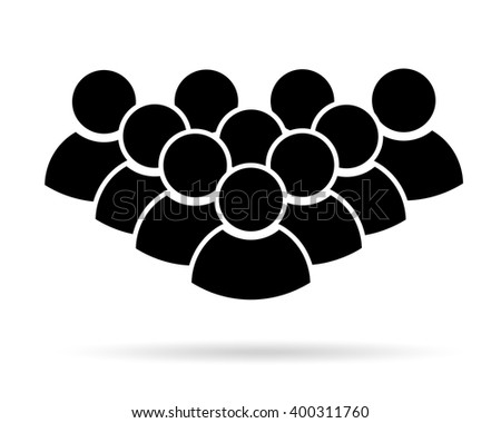 Crowd Icon Stock Images, Royalty-Free Images & Vectors ...
