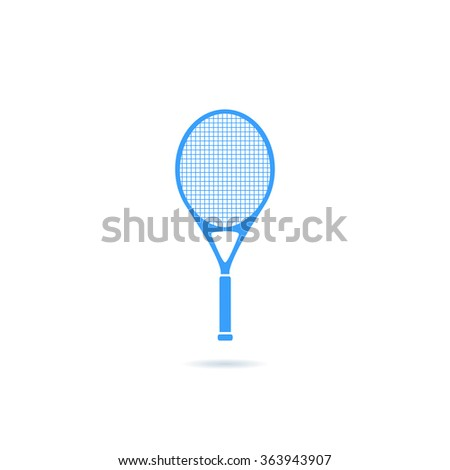 Icon of  tennis racket.