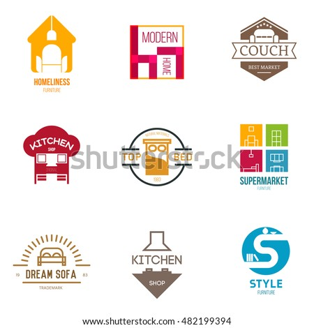 Best furniture logo images galleries for Top furniture design companies