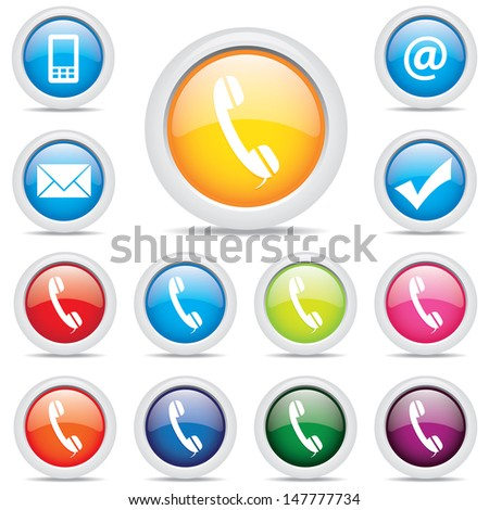 icon pack set symbol vector - stock vector