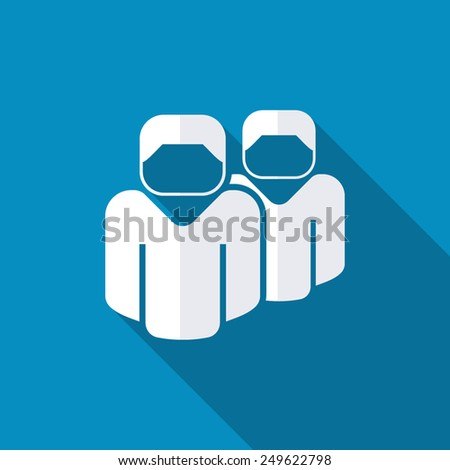 Icon people. Vector eps10 - stock vector