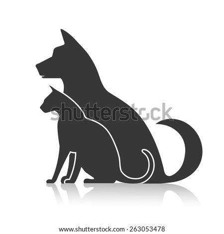 icon pets - stock vector