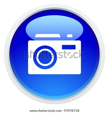 Icon Series - Camera - stock vector