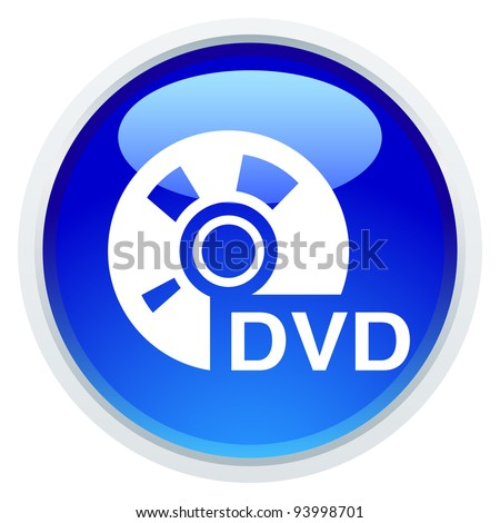 Icon Series - DVD - stock vector