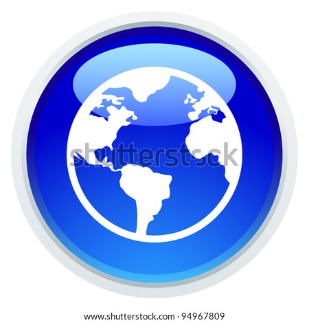 Icon Series - Earth - stock vector
