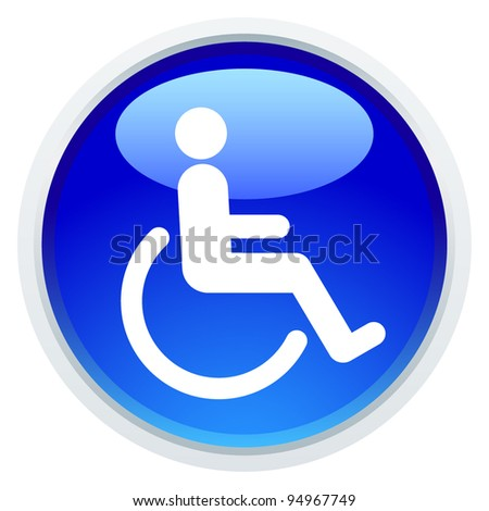 Icon Series - Handicap - stock vector