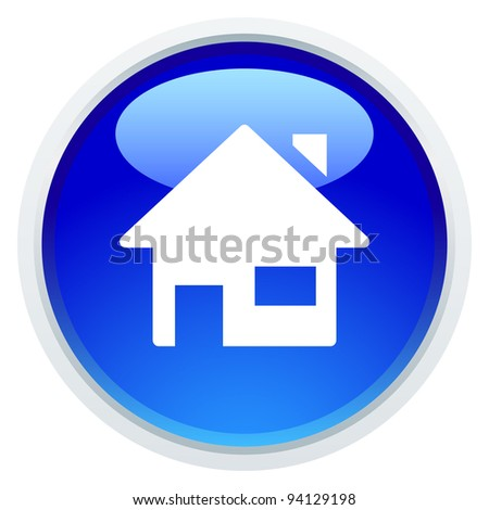 Icon Series - House - stock vector