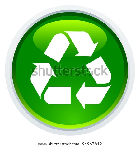 Icon Series - Recycle Sign - stock vector
