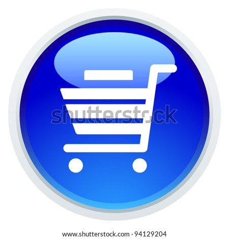 Icon Series - Shopping Cart - stock vector