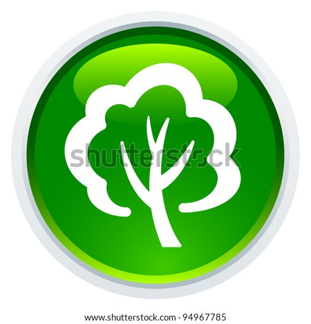 Icon Series - Tree - stock vector