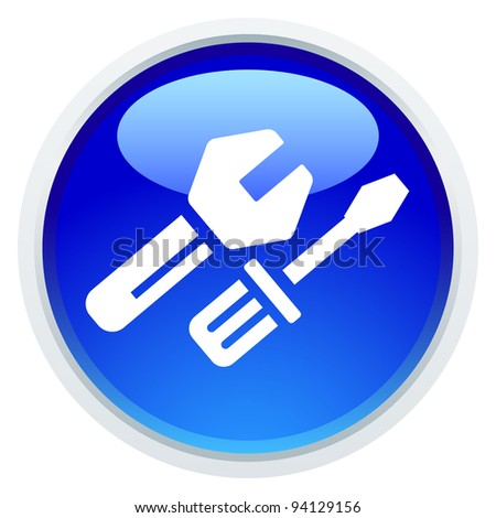 Icon Series - Work Tool - stock vector