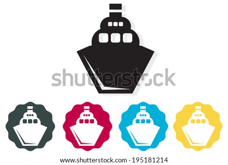 Icon - Shipping Industry