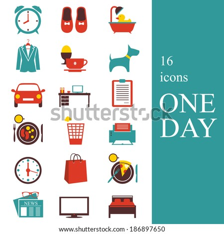 "Icons ""One Day"""