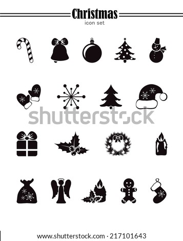 Icons Set for Christmas