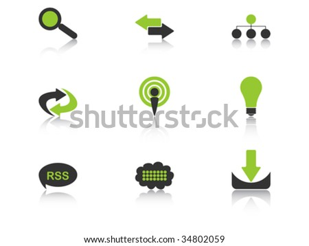 icons vector illustration - stock vector