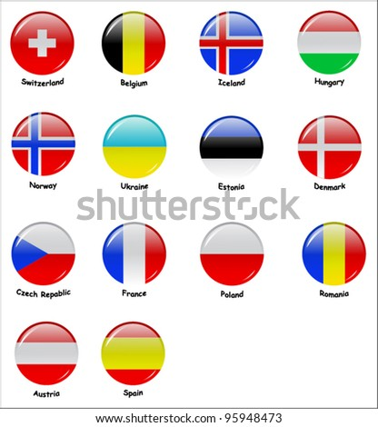 Icons with flags of european countries (part 2)