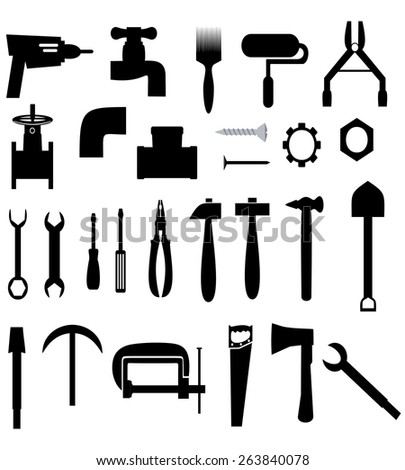 icons with tools