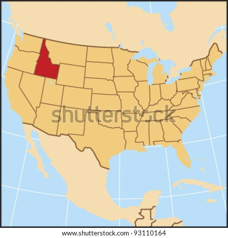 Idaho Locate Map