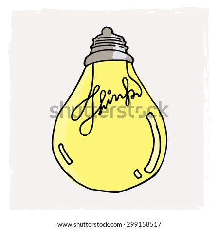 Idea Light Bulb B