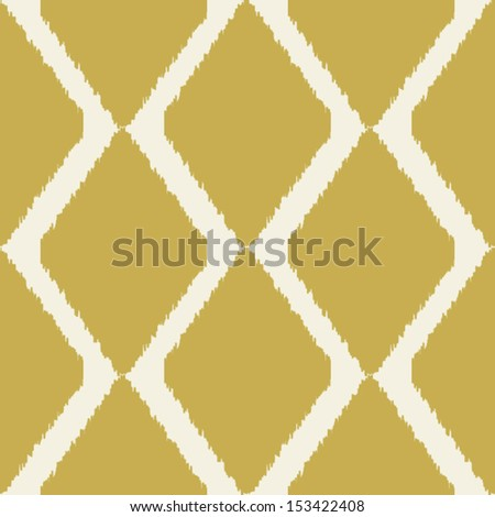 Ikat indian seamless modern pattern for home decor or web design, trendy seamless background - stock vector