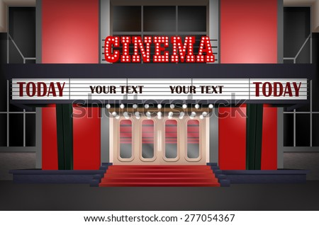 Theater Marquee Stock Images Royalty Free Images