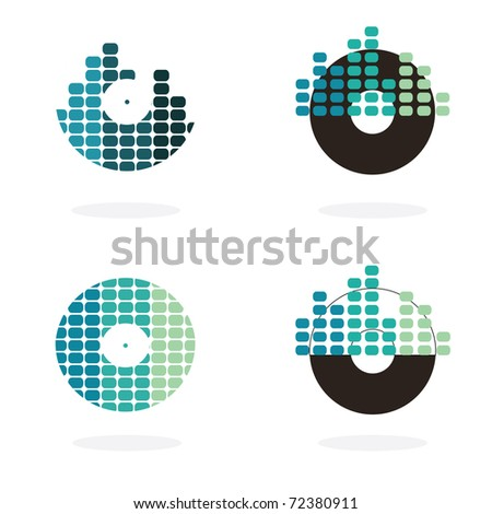 Illustrated bakelits - stock vector