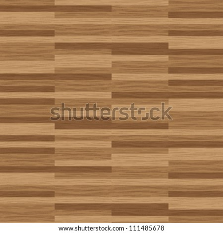 Illustrated wood parquet texture for floors and architecture interior designs - stock vector