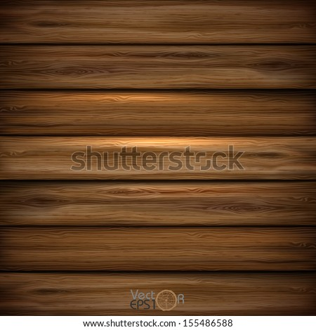 Illustrated wood parquet texture. Vector illustration. Eps 10. - stock vector