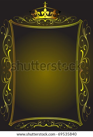 illustration background with pattern by sheet and corona