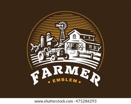 Beautiful Farm Logos