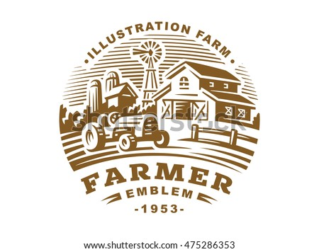 https://thumb1.shutterstock.com/display_pic_with_logo/3047357/475286353/stock-vector-illustration-farm-logo-in-vintage-style-475286353.jpg