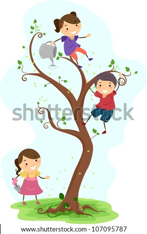 Kids Planting Tree Stock Photos, Royalty-Free Images ...